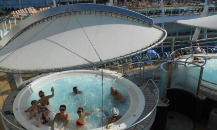 Oasis of the Seas 2014.